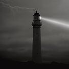 Light at Night by Steven  Agius