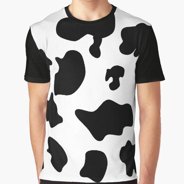 Cow pattern spots animal print Graphic T-Shirt