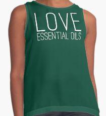 Essential Oils Love Contrast Tank