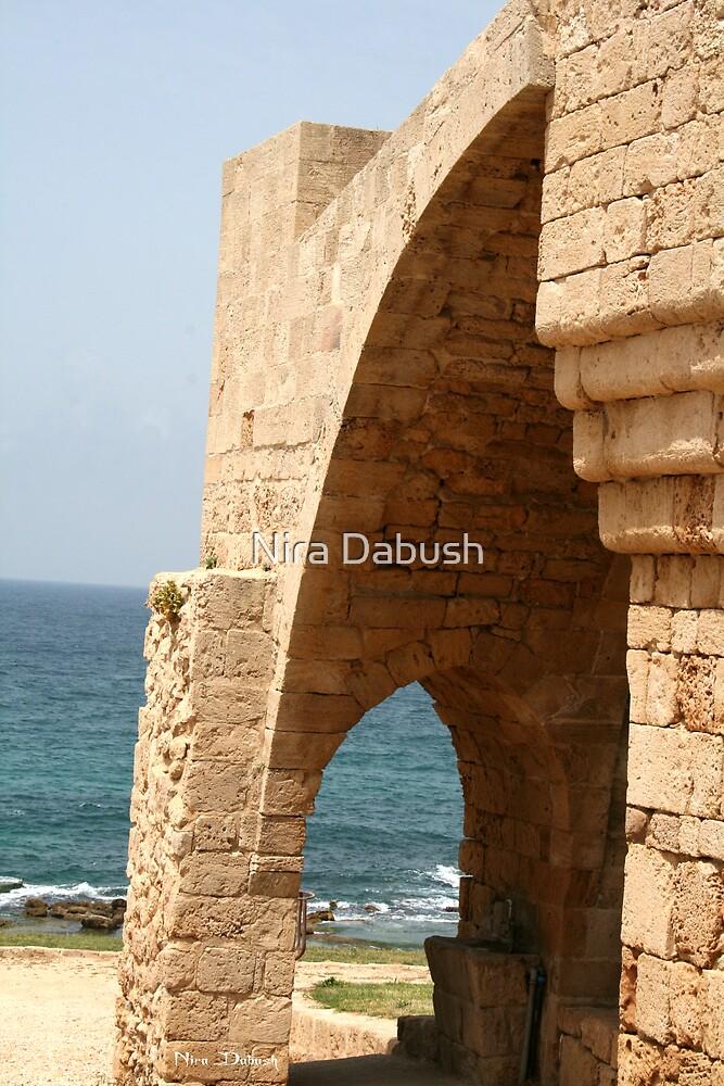 The Sea Seen Through the Arch by Nira Dabush