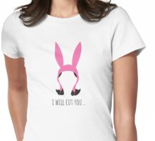 I Will Cut You Womens Fitted T-Shirt