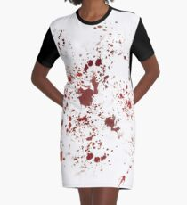 Bloody Graphic T-Shirt Dress