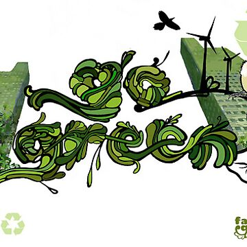 Go Green by faunagraphic