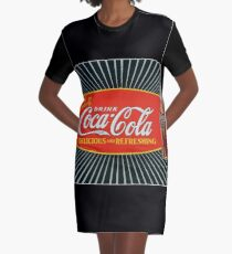 Refresh Yourself and Share One, Too! Graphic T-Shirt Dress