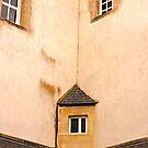 Corner Window - Bayeux Normandy, France by Buckwhite