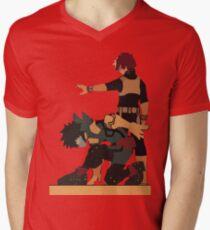The Dynamic Duo Men's V-Neck T-Shirt