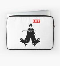 Charlie Chaplin vintage movie Laptop Sleeve