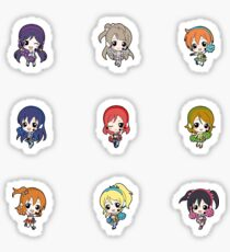 Chibi Cheer Love Live Sticker