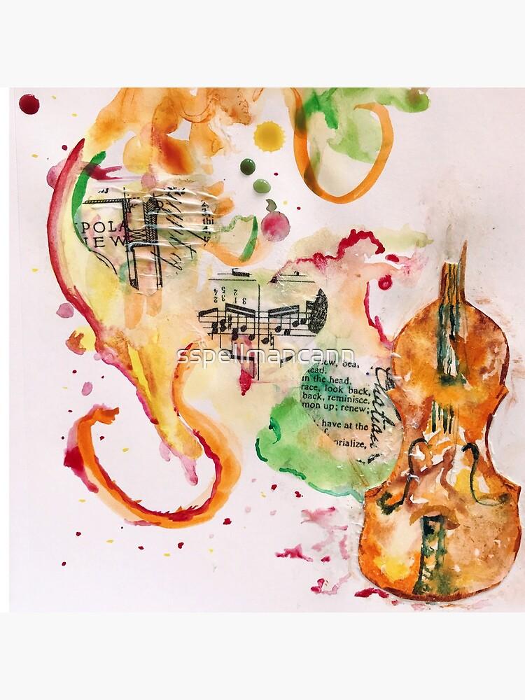 Violin Love by sspellmancann