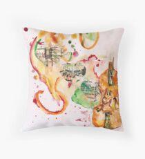 Violin Love Throw Pillow