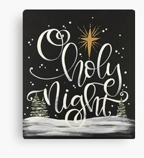 O Holy Night Canvas Print
