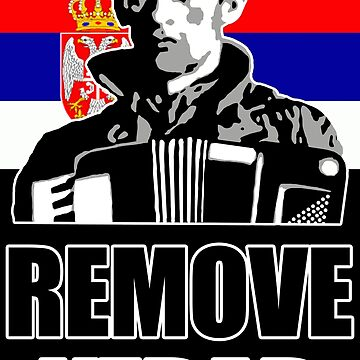 Remove Kebab with Serbian flag by Dipardiou