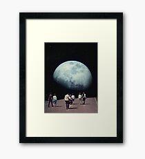 Way Back Home Framed Print