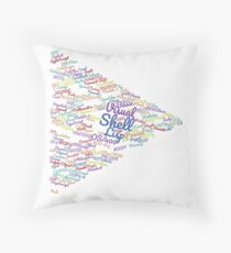 Code Forward Shell Bash Terminal Shirt Throw Pillow