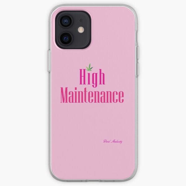 High Maintenance (PINK) iPhone Soft Case