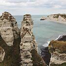 Cliffs of Etretat 2 by Elena Skvortsova