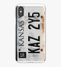 Supernatural License Plate iPhone Case/Skin