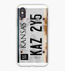 Übernatürliches Nummernschild iPhone-Hülle & Cover