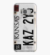 Supernatural License Plate Samsung Galaxy Case/Skin