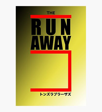 The Runaway Five (Retro Style) Photographic Print