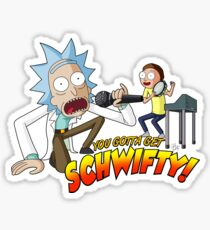 Rick and Morty: Get Schwifty Sticker