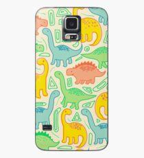 Funda/vinilo para Samsung Galaxy Fiesta de dinosaurios
