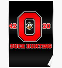 Ohio State Duck Hunting Poster