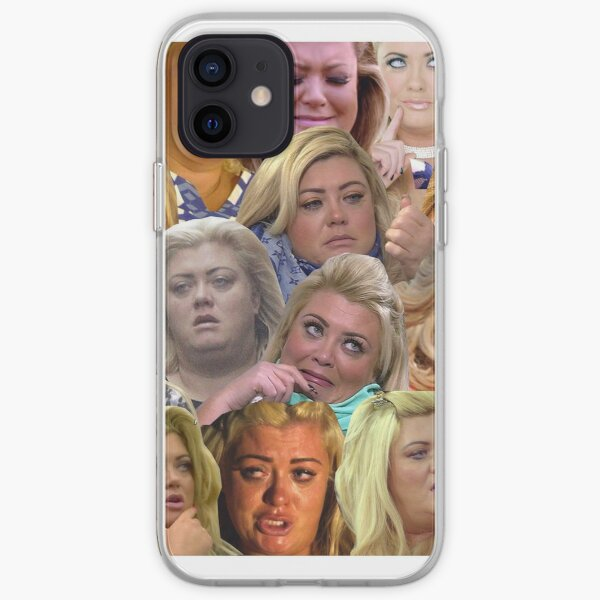 THE MANY MOODS OF GEMMA COLLINS  iPhone Soft Case