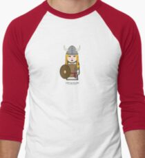 Viking Dude™ Men's Baseball ¾ T-Shirt