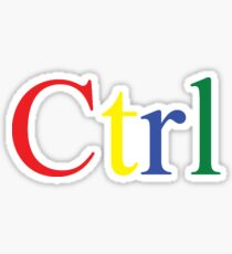 Ctrl Sticker
