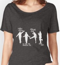 Arrested Development Bluth Family Chicken Dance Women's Relaxed Fit T-Shirt