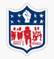 Protest IS Patriotic Sticker