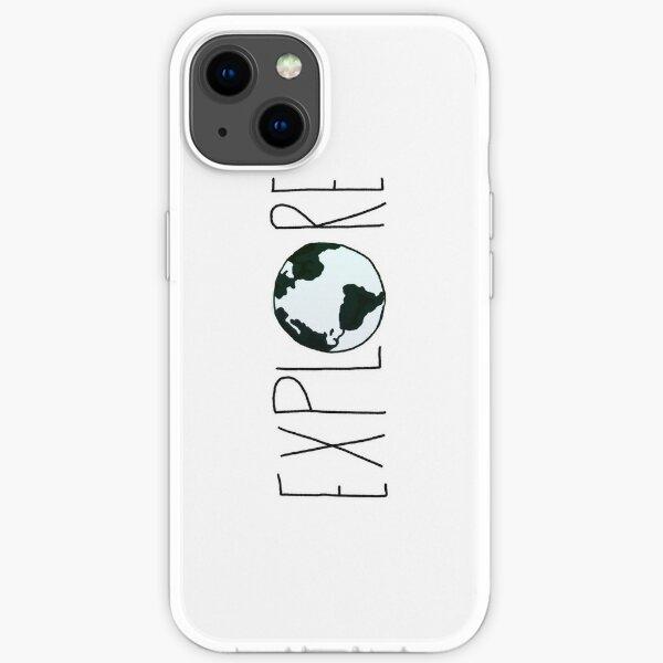Explore the Globe iPhone Soft Case