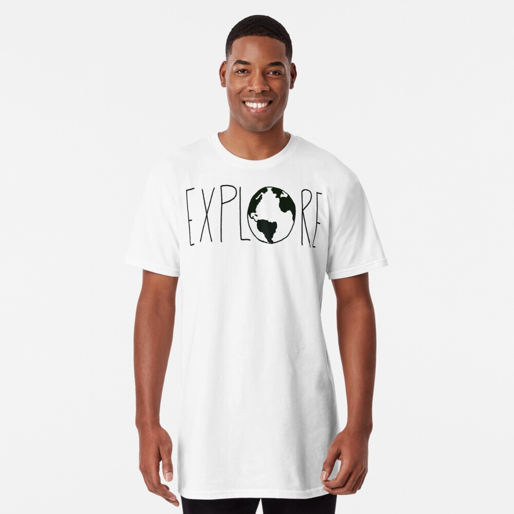 Explore the Globe Long T-Shirt