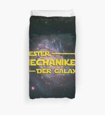 Space > Bester Mechaniker der Galaxie > Nerd Duvet Cover