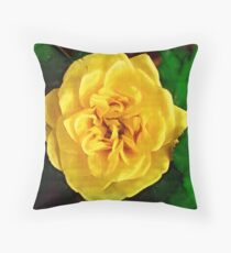 Brushed Banksia Throw Pillow
