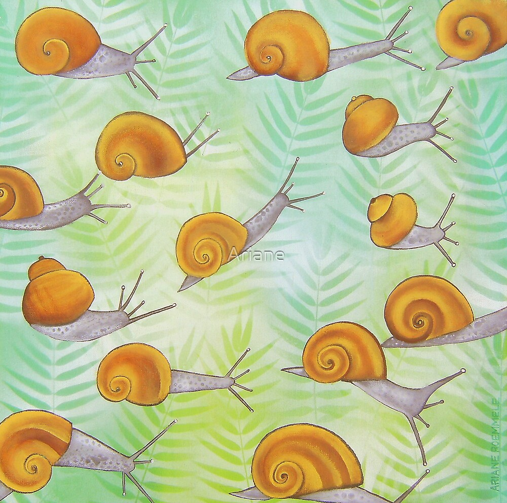 """ SNAILS "" 102 by Ariane"