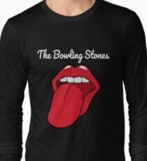 The Bowling Stones -amusing funny best bowling team t-shirt Long Sleeve T-Shirt