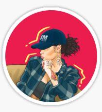 Lil Lay Low Sticker