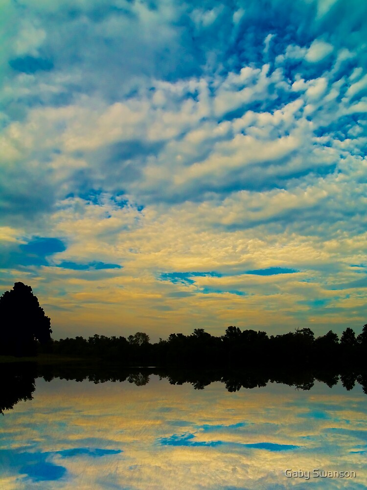Reflection Pond by Gabriele Swanson