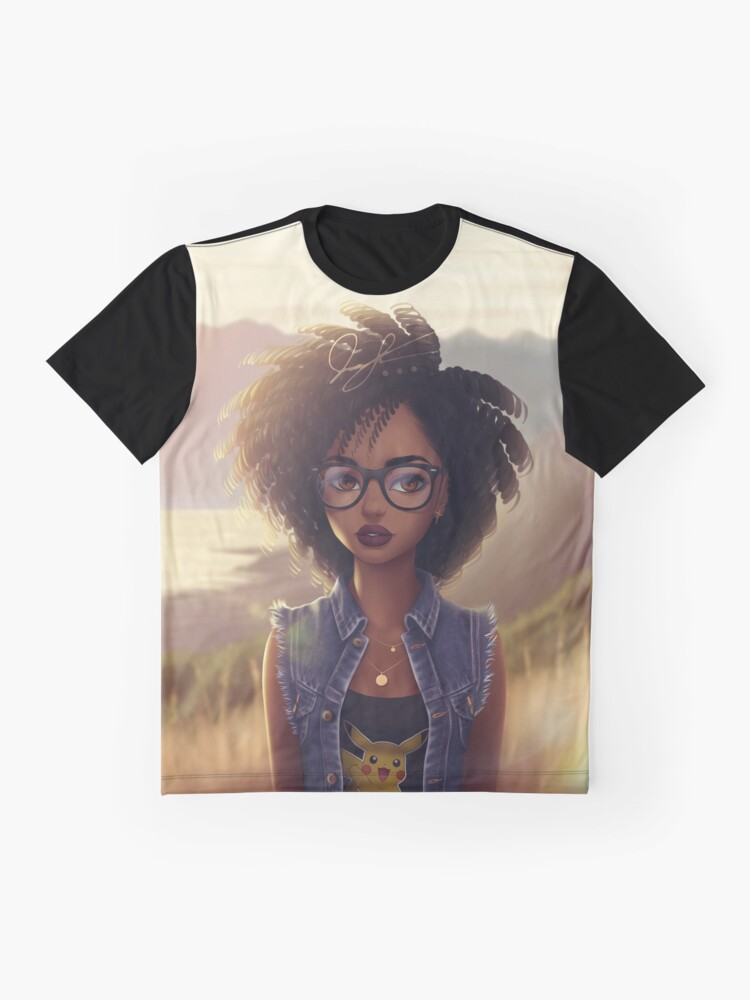 Alternative Ansicht von Blerdy Girl von Jayel96 (Jamal) Grafik T-Shirt