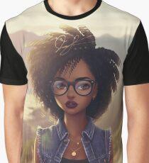 Blerdy Girl von Jayel96 (Jamal) Grafik T-Shirt