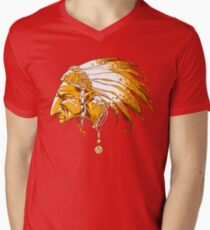 Chief Mens V-Neck T-Shirt