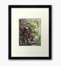 Scattered Framed Print