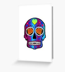 Lady Soul Sugarskull Greeting Card