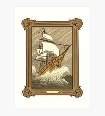Dipper's Clipper Ship Picture (framed) Art Print