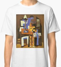 Three Musicians by  Pablo Picasso Classic T-Shirt