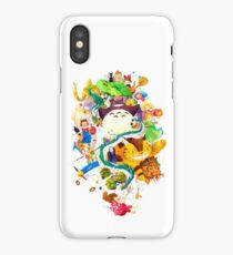 Childhood Memories Collage iPhone Case