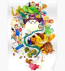Childhood Memories Collage Poster