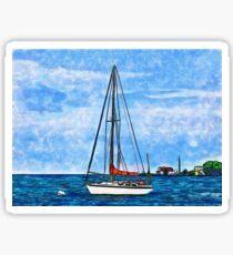 Dream Boat Sticker